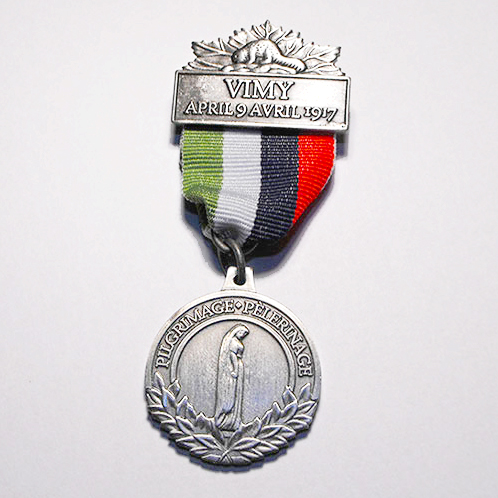 vimy pilgrimage medal vimy foundation