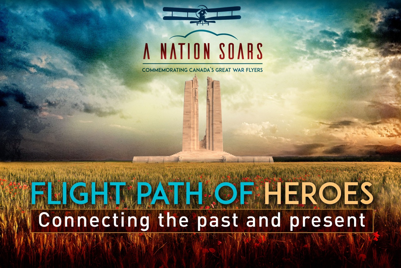 May-October 2017 - Vimy Flight's Cross-Canada Tour & Flight Path of Heroes