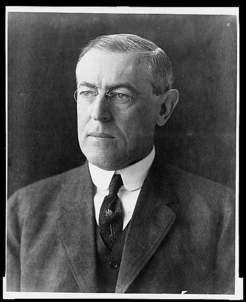 woodrow wilsons decision to join the 101 years ago, woodrow wilson urged congress to declare war on germany his speech serves as a model of presidential integrity.