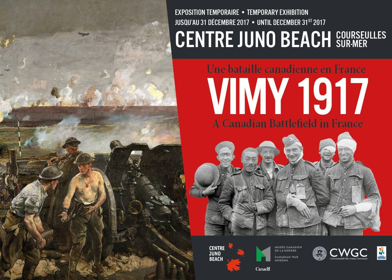 1 mars - 31 décembre 2017 - Centre Juno Beach - Vimy 1917: Une bataille canadienne en France