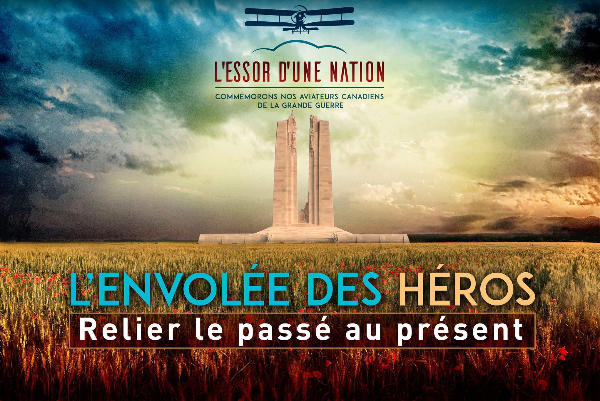 novembre - decembre 2017 - séries télévisées - « A Nation Soars: Commemorating Canada's Great War Flyers »