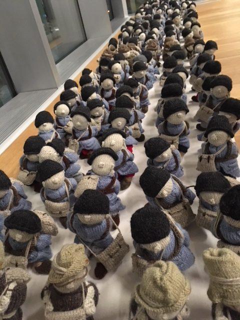 3 novembre 2017 - 7 janvier 2018 - L'ARMÉE DE LAINE WOOL WAR ONE - Le Musée des beaux-arts de Montréal