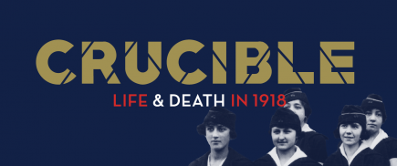 3 avril 2018 - 10 mars 2019 - Kansas City, MO, É-U - Crucible Life & Death in 1918
