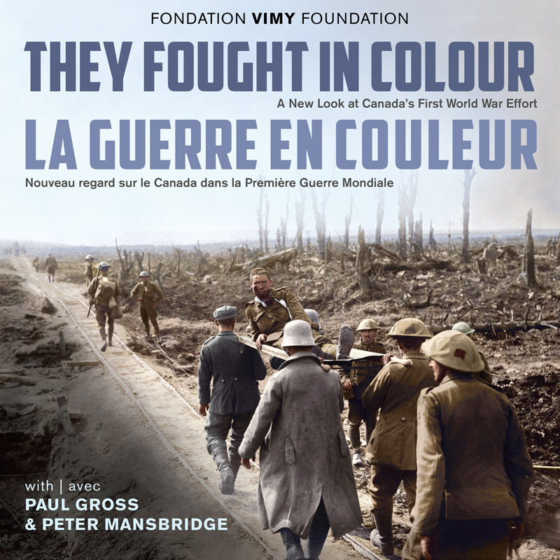 They Fought in Colour book